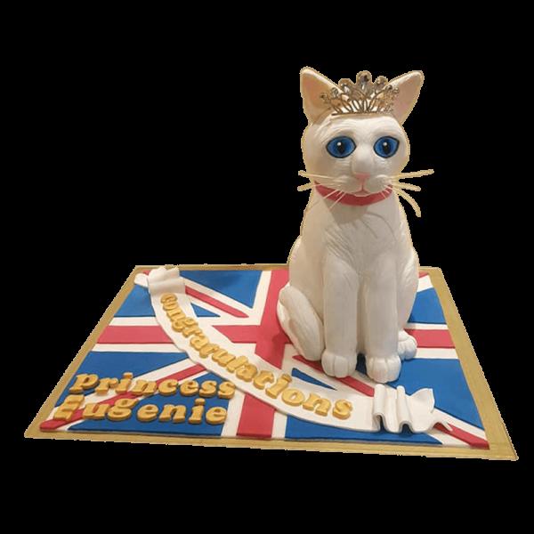 The queen cat