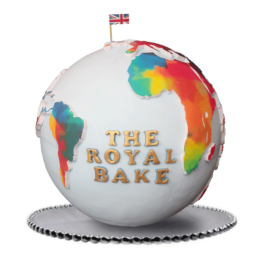 world map cake