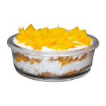 Kunafa with Baladi Fresh Cream and Mango2