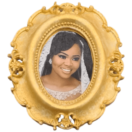 Photo frames- black woman