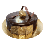 golden plates Mousse cake