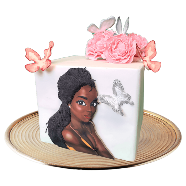 Cube cake African