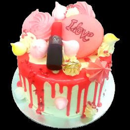 Lipstick Tango Cake