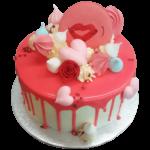Strawberry Tango cake