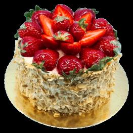 Strawberry mania cake
