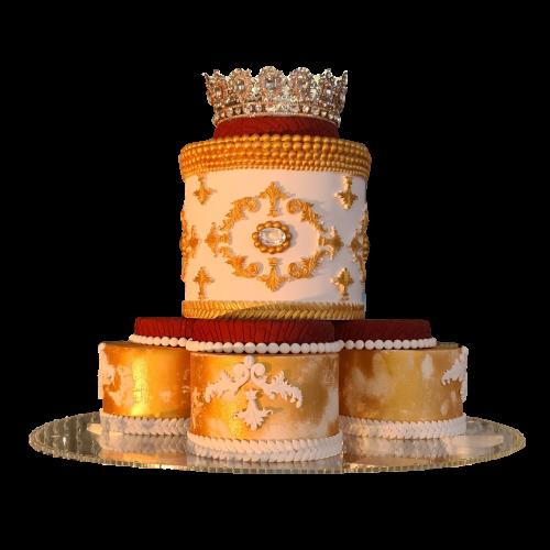 Crown Cake1