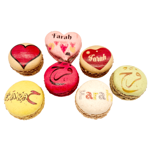 Branding Macarons - Name Design