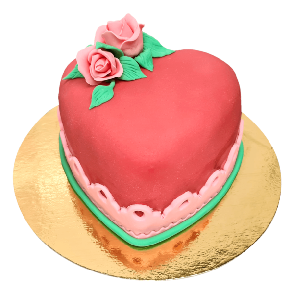 The Big Heart Cake