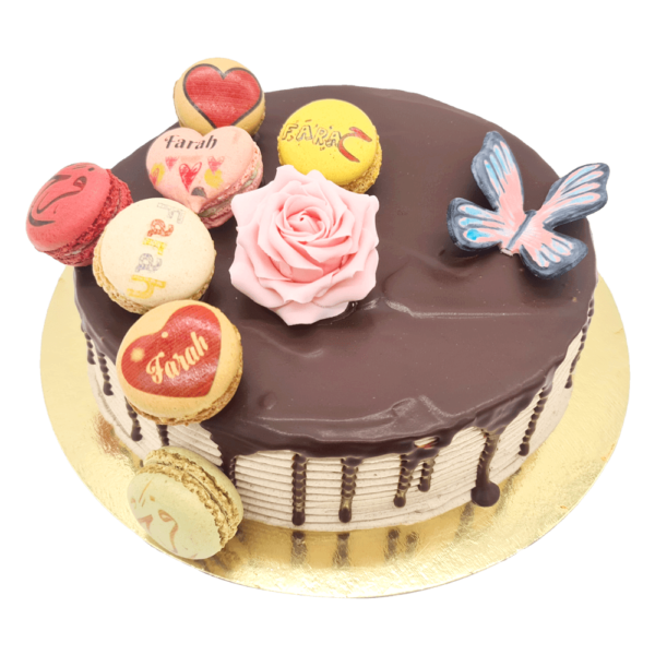 The Chocolate Drip Cake